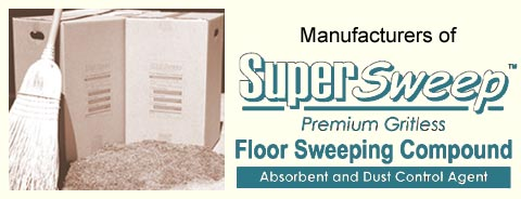 Colorado Sawdust & Sweep, Manufacturers of SuperSweep Premium Gritless Floorsweeping Compound